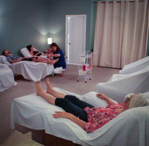 ERCA community acupuncture room