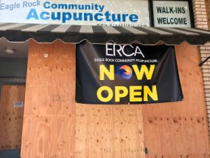 ERCA Clinic boarded up during COVID