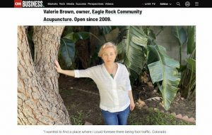 CNN article on Valerie Brown of Eagle Rock Community Acupuncture