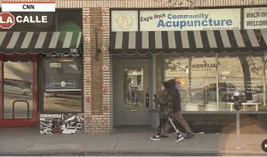 The storefront of Eagle Rock Community Acupuncture