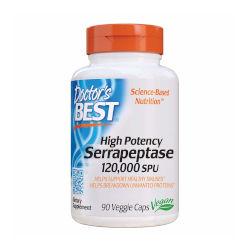 high potency serrapeptase supplement